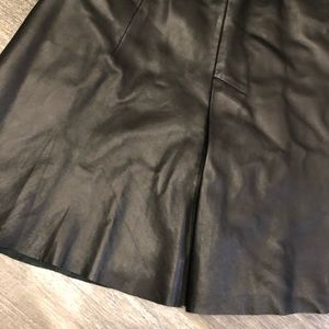 All Saints Skirts - All saints ansel leather skirt